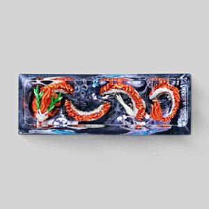 dragon artisan keycaps 131