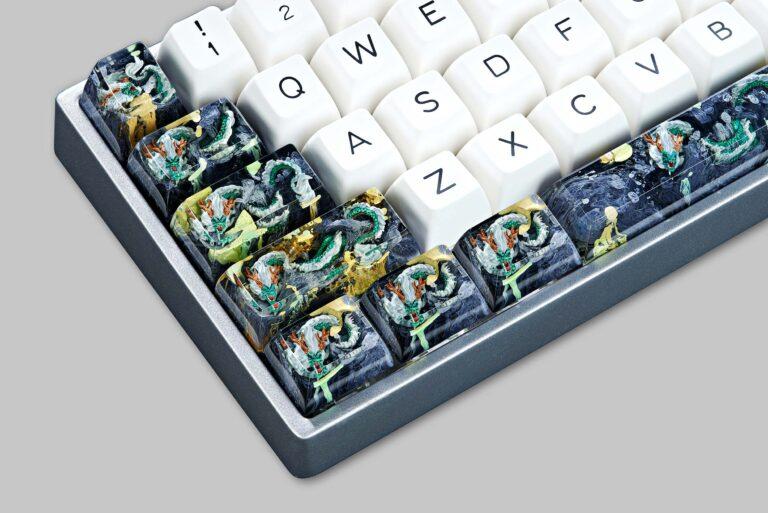 dragon artisan keycaps 137