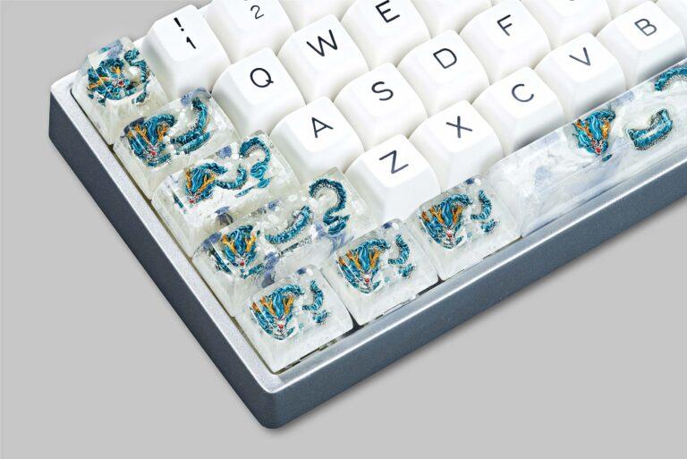 dragon artisan keycaps 138