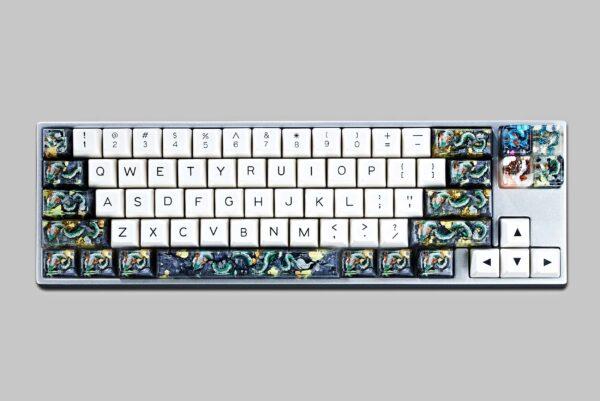 dragon artisan keycaps 144