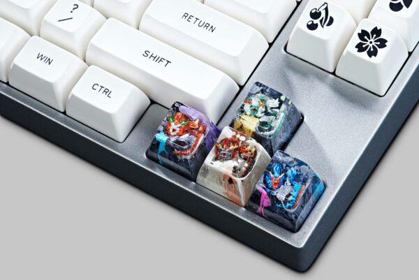 dragon artisan keycaps 149