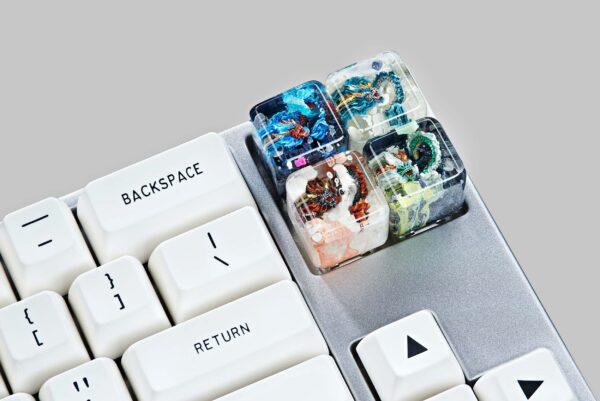 dragon artisan keycaps 151