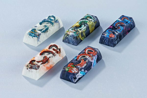 dragon artisan keycaps 164