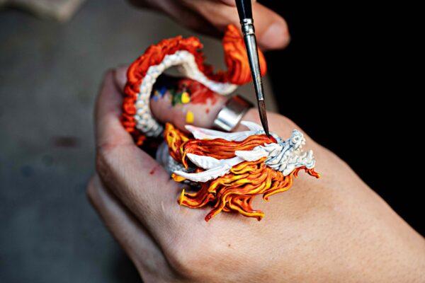 dragon artisan keycaps 173