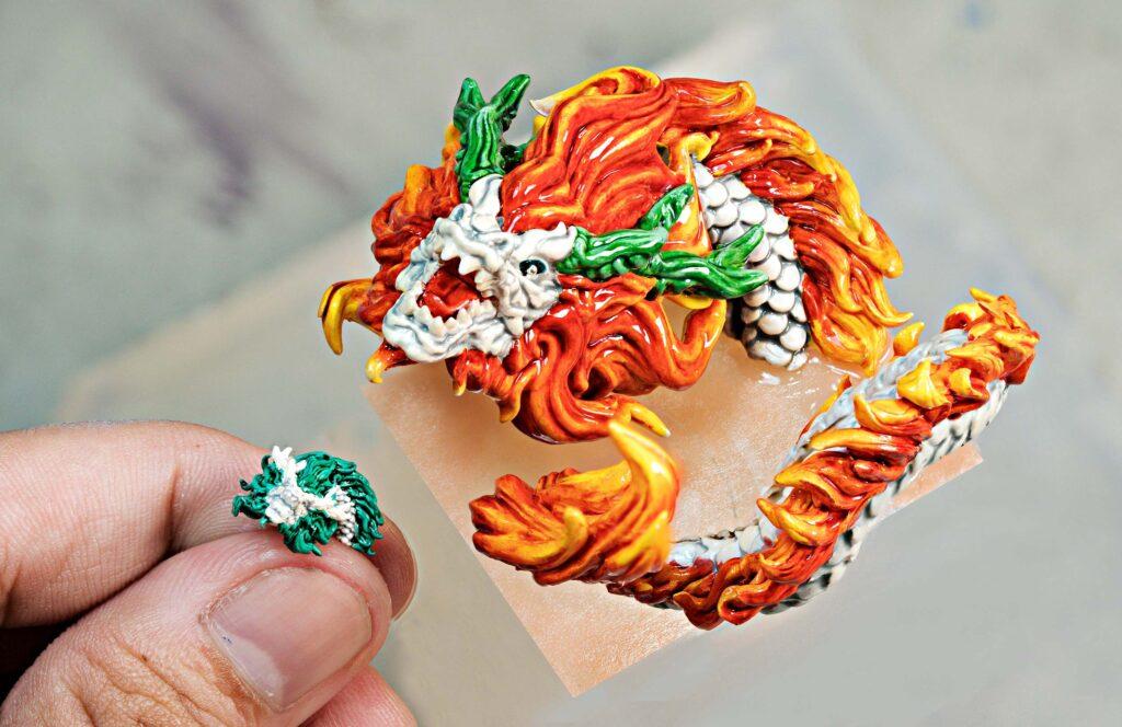 dragon artisan keycaps 177