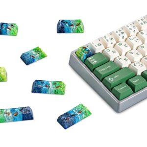 Koi Fish Custom Keycaps (1)