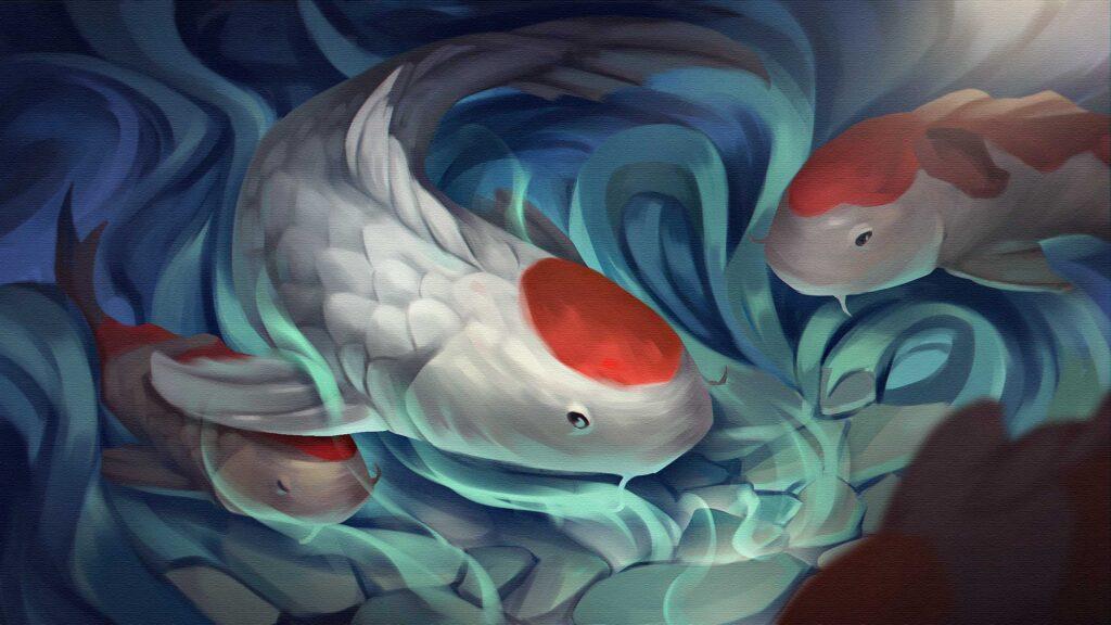 Koi Fish Custom Keycaps (176)