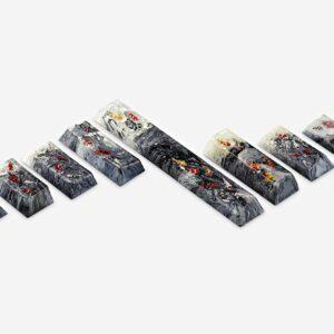 Koi Fish Custom Keycaps (27)