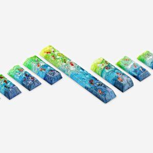 Koi Fish Custom Keycaps (29)
