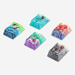 Koi Fish Custom Keycaps (36)