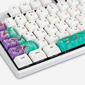 Koi Fish Custom Keycaps (7)