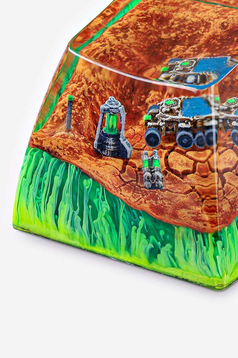 Mars Custom Keycaps 077