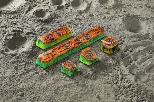 Mars Custom Keycaps 105