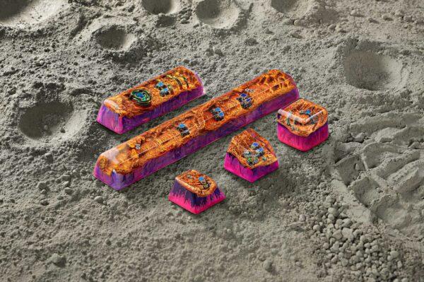 Mars Custom Keycaps 106