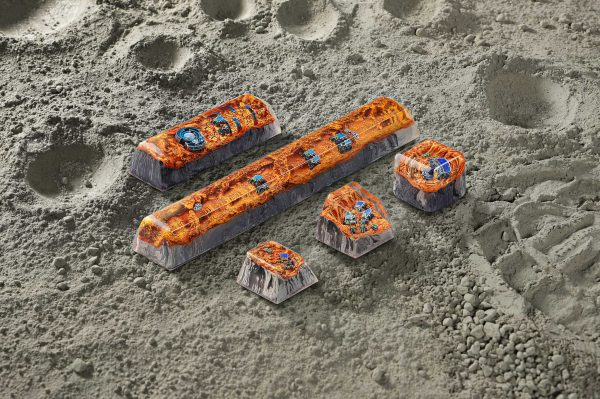 Mars Custom Keycaps 107