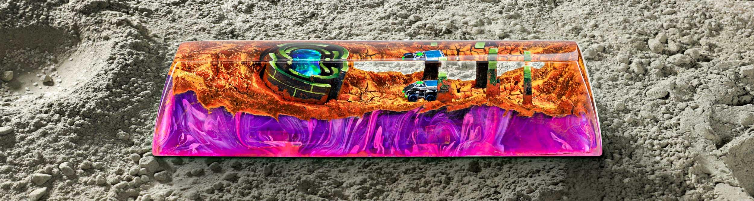 Mars Custom Keycaps 164