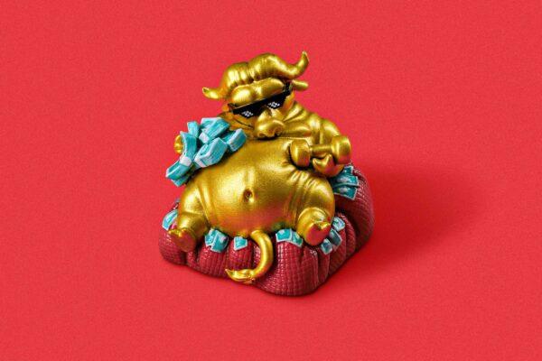 Zodiac Ox Keycaps 001