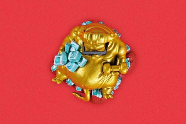 Zodiac Ox Keycaps 003