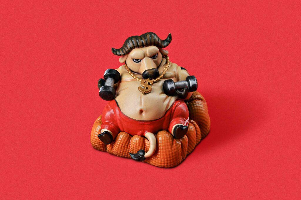 Zodiac Ox Keycaps 004