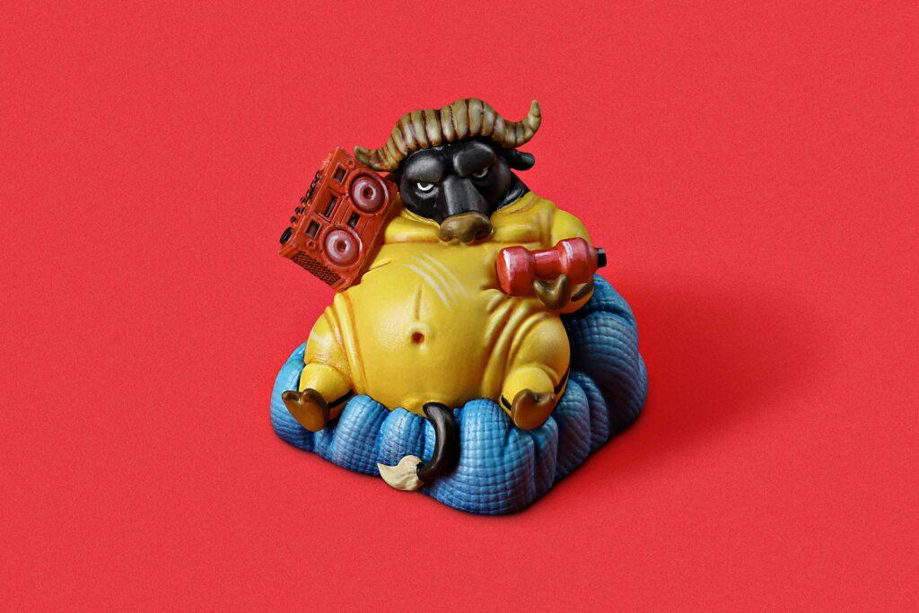 Zodiac Ox Keycaps 007
