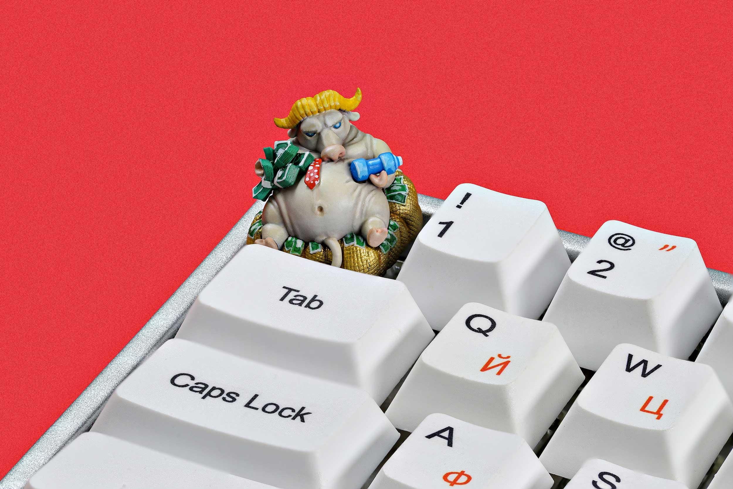 Zodiac Ox Keycaps 013