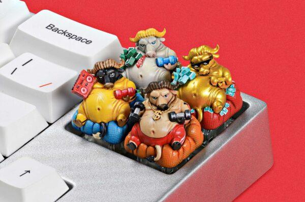 Zodiac Ox Keycaps 015
