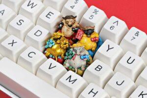Zodiac Ox Keycaps 018