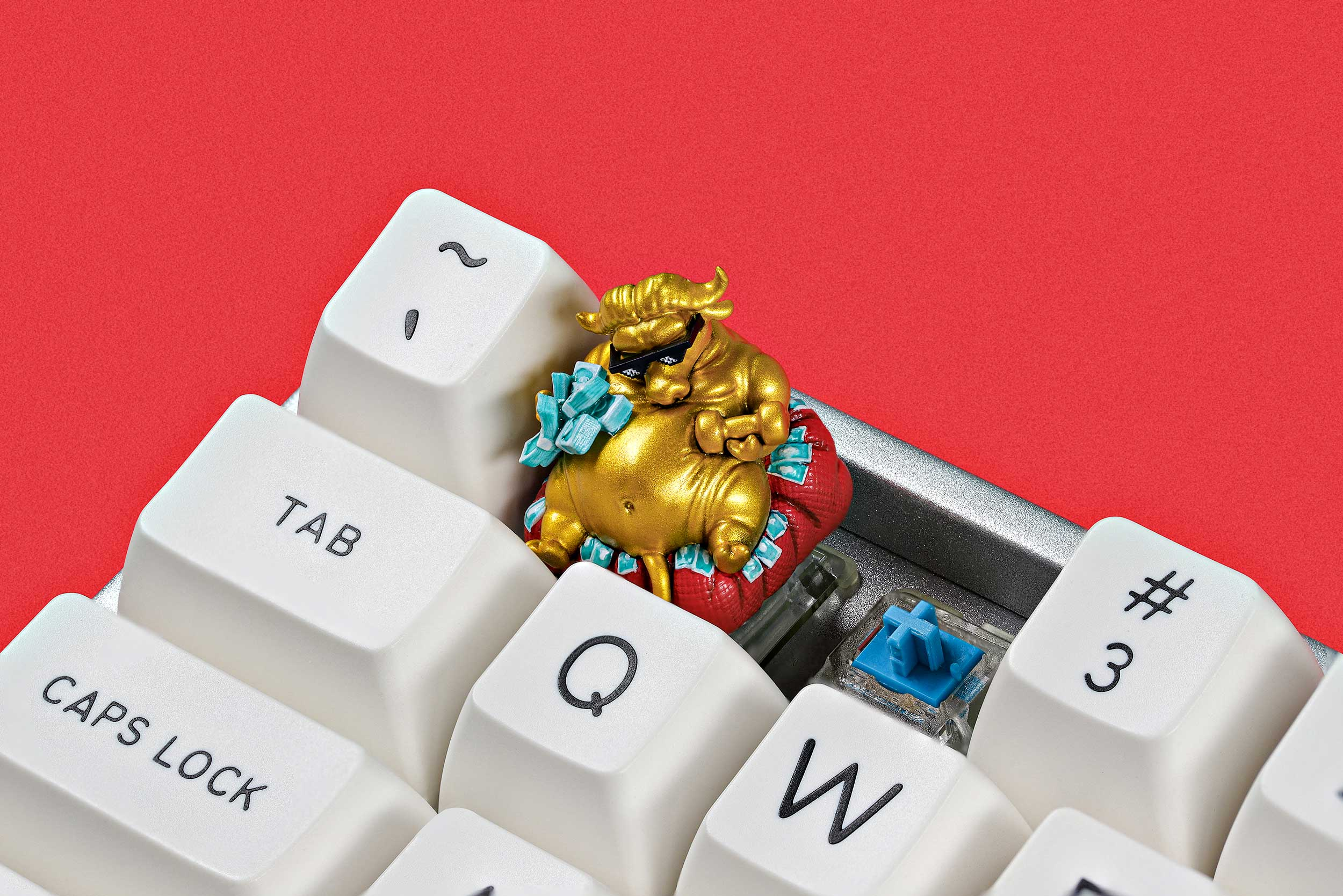 Zodiac Ox Keycaps 020
