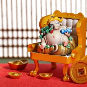Zodiac Ox Keycaps 022